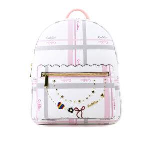 carlorino bag 0304740E 005 34 1 300x300 - Embroidered Charmed Series Backpack