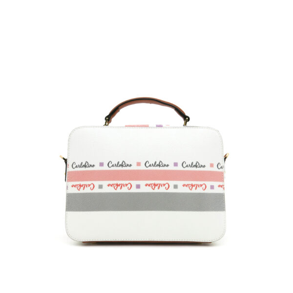 carlorino bag 0304756G 001 05 2 600x600 - Gratifying Graphic Boxy Top Handle