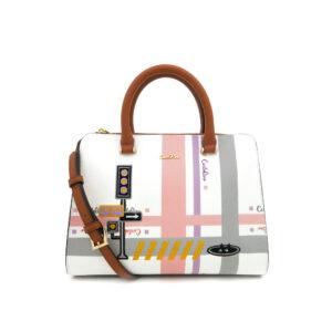carlorino bag 0304756G 003 05 1 300x300 - Gratifying Graphic Boxy Top Handle