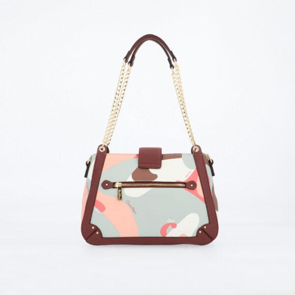 carlorino bag 0304819G 004 14 2 - Posh in Pink Chain Link Shoulder Bag