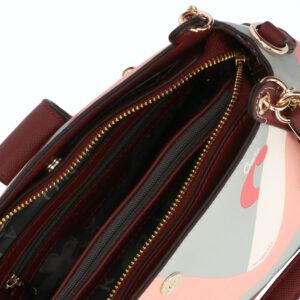 carlorino bag 0304819G 004 14 4 - Posh in Pink Chain Link Shoulder Bag