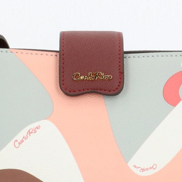 carlorino bag 0304819G 004 14 5 - Posh in Pink Chain Link Shoulder Bag