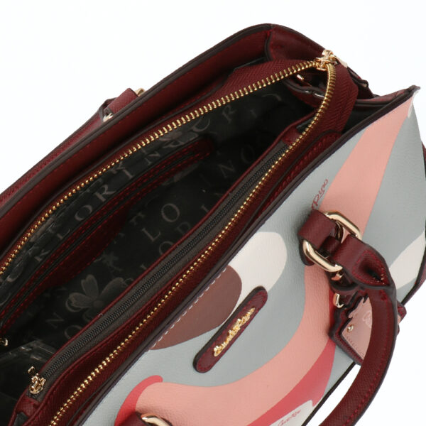 carlorino bag 0304819G 006 14 4 600x600 - Posh in Pink Round Top Top Handle
