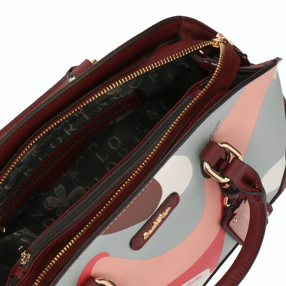 carlorino bag 0304819G 006 14 4 - Posh in Pink Round Top Top Handle