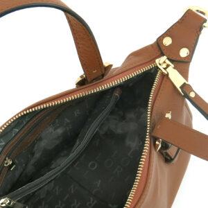carlorino bag 0304875F 003 35 4 - Leather Bash Hobo Top Handle