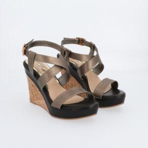"carlorino shoe 33300 G001 08 1 300x300 - 4"" Lead the Way Wedges with Metallic Strap"