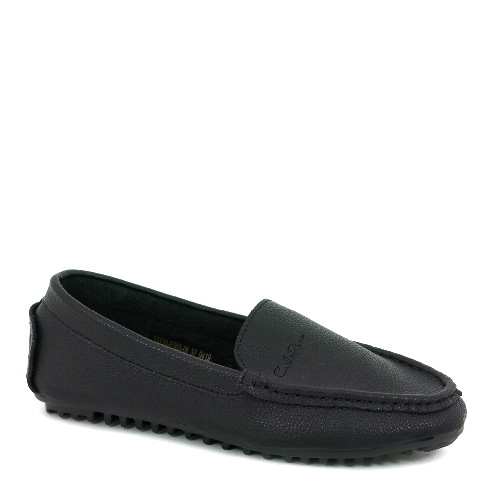 carlorino shoe 33330 F003 08 1 - Beefroll Plain Jane Loafers with Zig Zag Soles