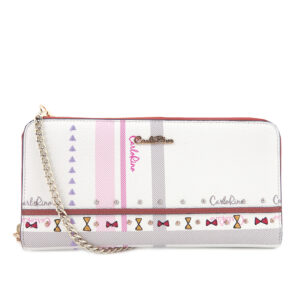 carlorino wallet 0304740E 502 05 1 300x300 - Embroidered Charmed Series Top Handle with Flap