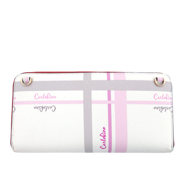 carlorino wallet 0304740E 502 05 2 - Embroidered Charmed Series Wallet - Style 2