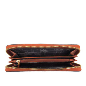 carlorino wallet 0304740E 502 05 4 - Embroidered Charmed Series Wallet - Style 2