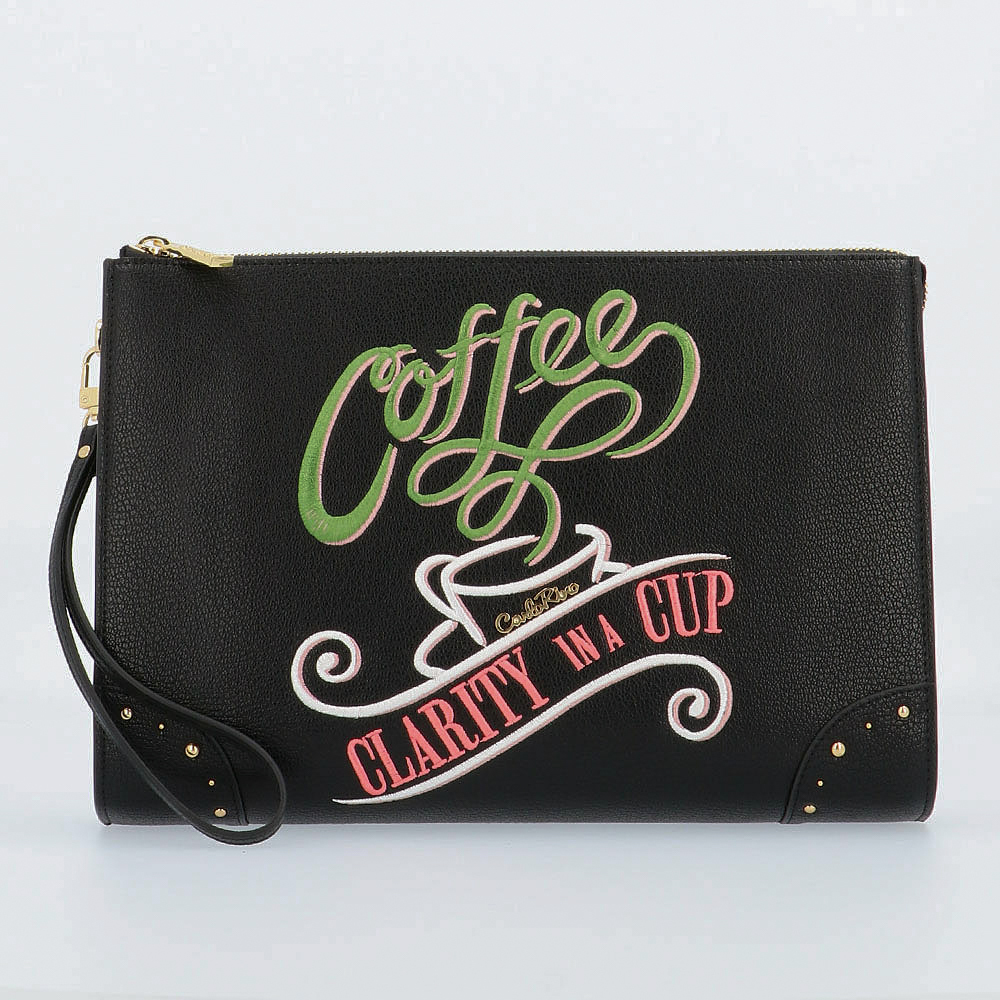 carlorino wallet 0304809G 701 08 1 - Clarity in a Cup Wristlet