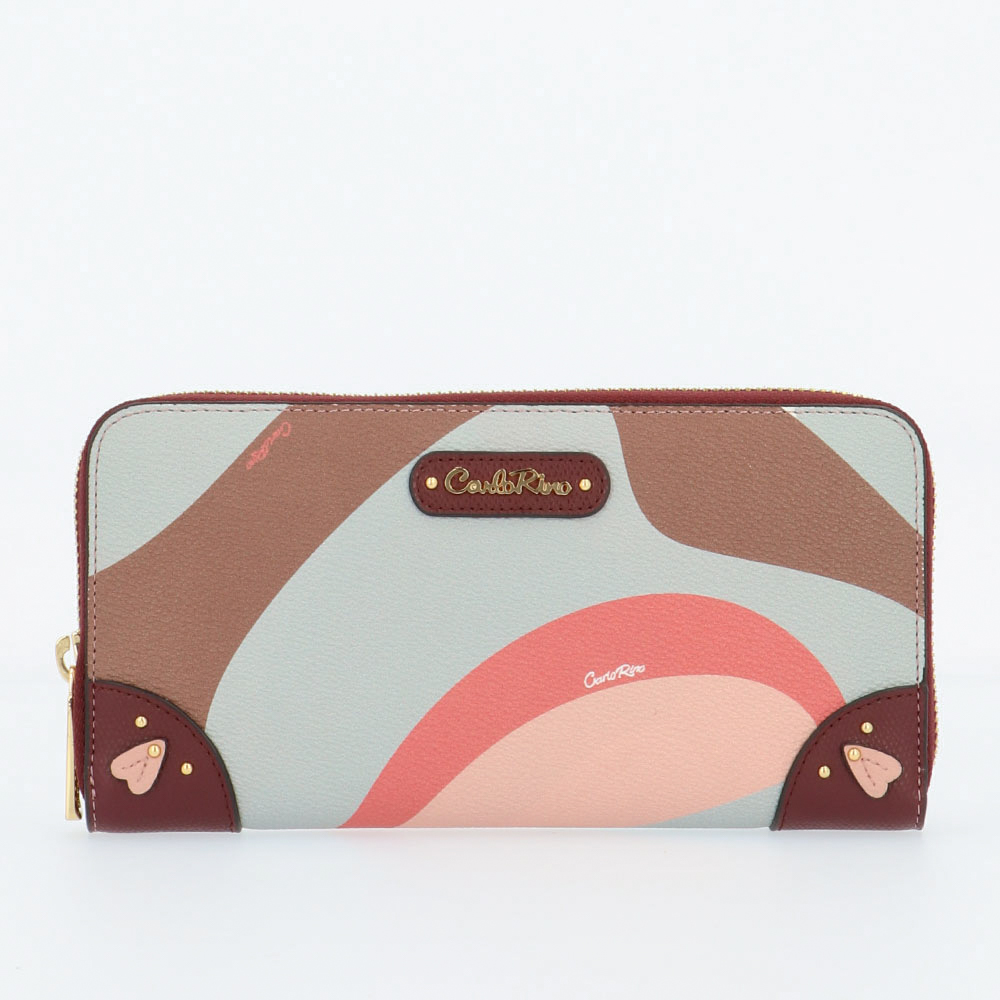 carlorino wallet 0304819G 503 14 1 - Posh in Pink Zip-around Wallet
