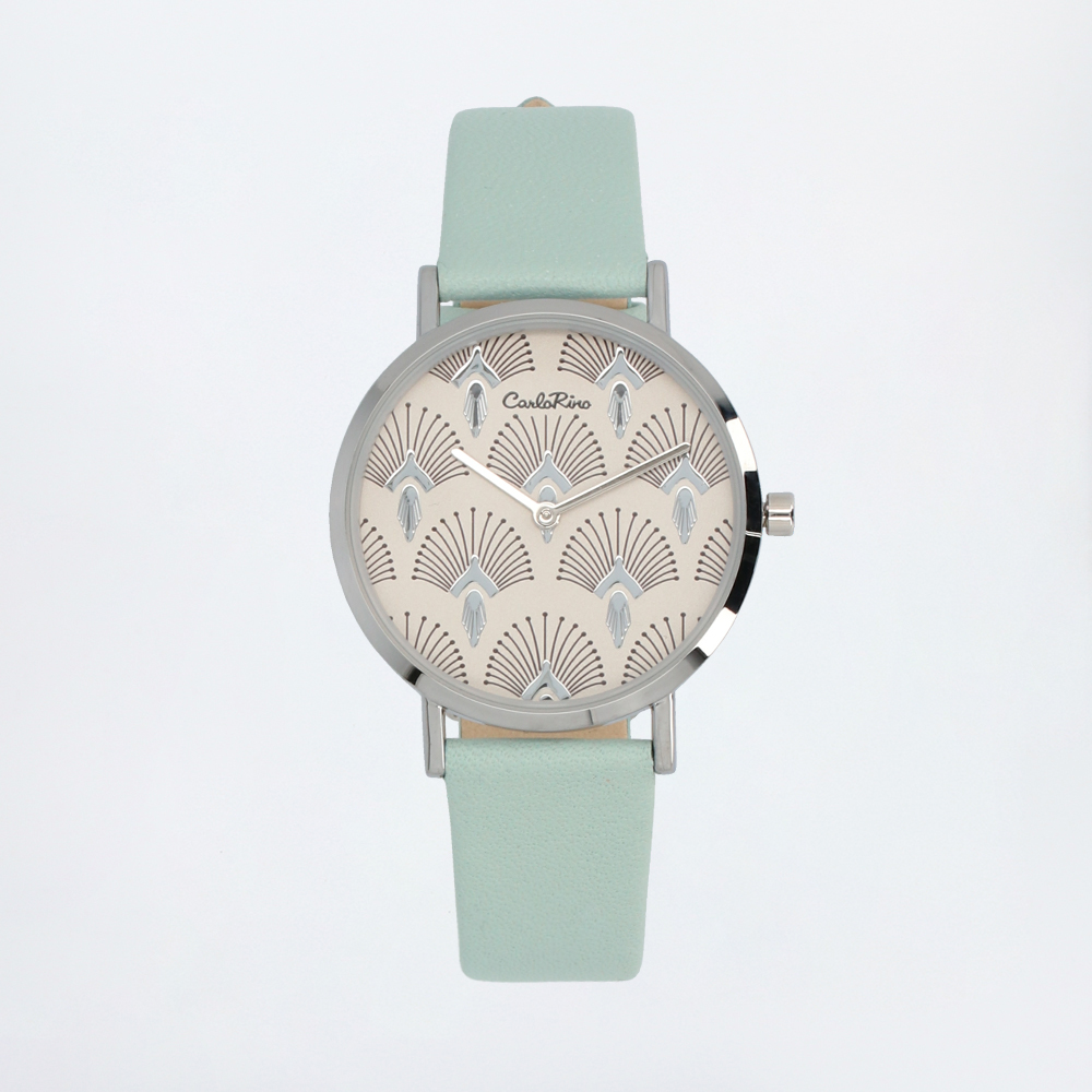 carlorino watch A93301 G001 26 1 - Pastel Perfect Leather Strap Timepiece