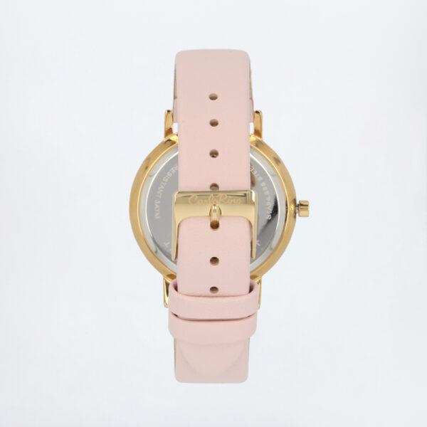 carlorino watch A93301 G006 34 3 - Roman Indulgence Leather Strap Timepiece
