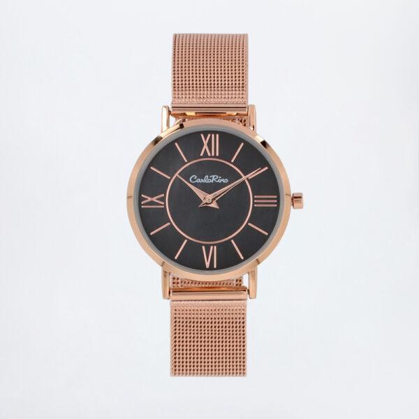 carlorino watch A93301 G007 32 1 600x600 - Roman Indulgence Mesh Band Timepiece
