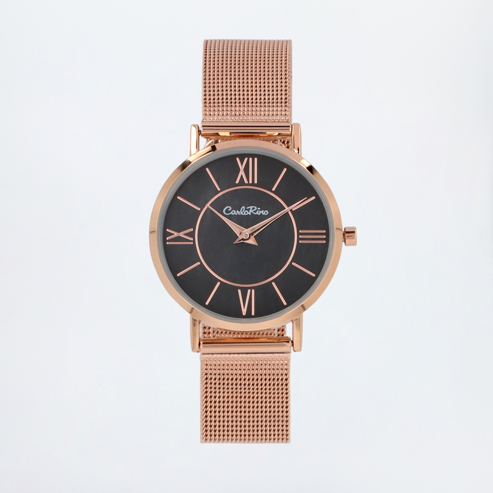 carlorino watch A93301 G007 32 1 - Roman Indulgence Mesh Band Timepiece