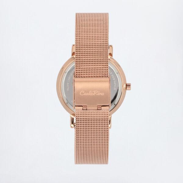 carlorino watch A93301 G007 32 3 600x600 - Roman Indulgence Mesh Band Timepiece