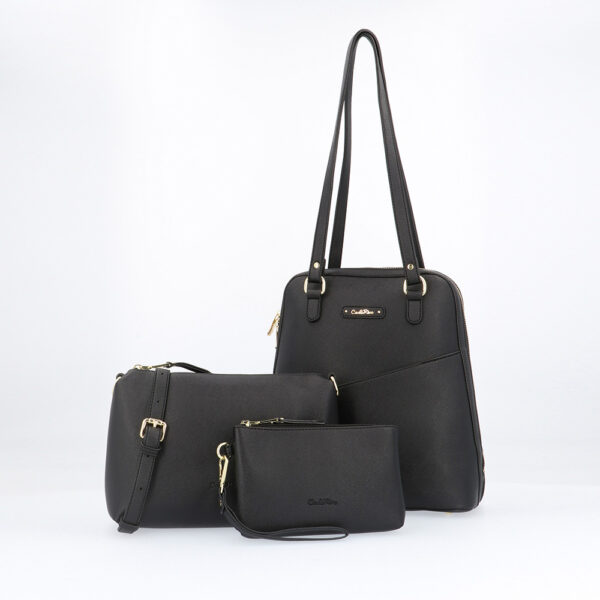 carlorino bag 0303355 017 08 1 - Smooth Carrier 3-in-1 Tote Set