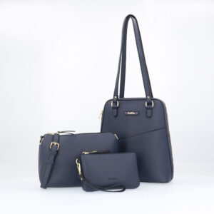 carlorino bag 0303355 017 13 1 - Smooth Carrier 3-in-1 Tote Set