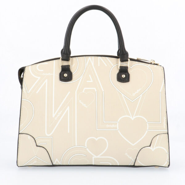 carlorino bag 0304807G 006 21 2 - Love is in the Air Top Handle Tote