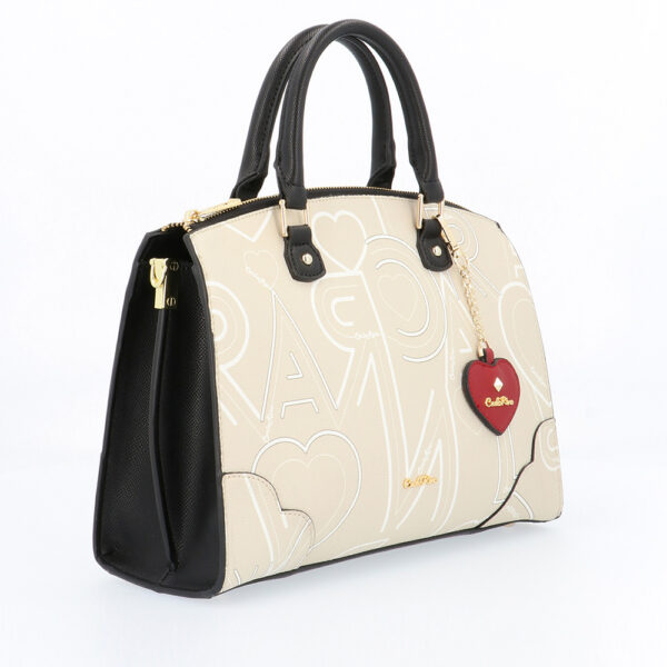 carlorino bag 0304807G 006 21 3 - Love is in the Air Top Handle Tote