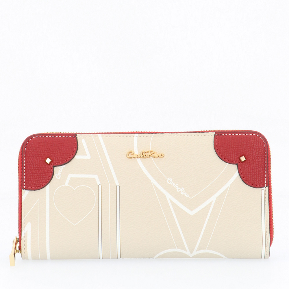 carlorino wallet 0304807G 503 21 1 - Love is in the Air Zip-around Wallet