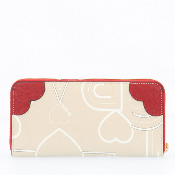 carlorino wallet 0304807G 503 21 2 - Love is in the Air Zip-around Wallet