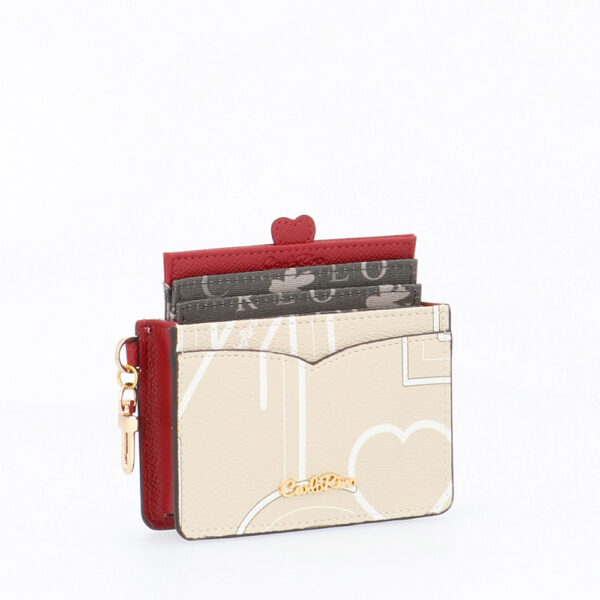 carlorino wallet 0304807G 701 21 4 - Love is in the Air Card Holder
