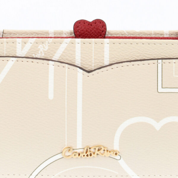 carlorino wallet 0304807G 701 21 5 - Love is in the Air Card Holder