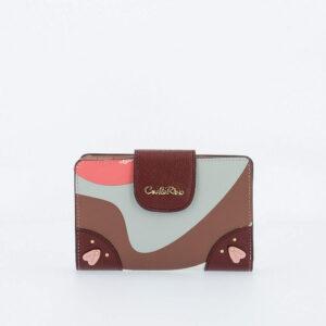 carlorino wallet 0304819G 504 14 1 300x300 - Posh in Pink Short Wallet with Snap Fastener