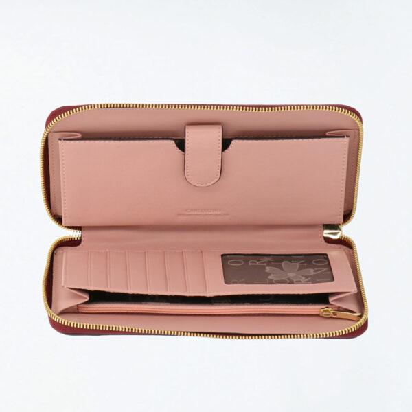 carlorino wallet 0304819G 505 14 4 - Posh in Pink Chain Link Top Handle Wallet