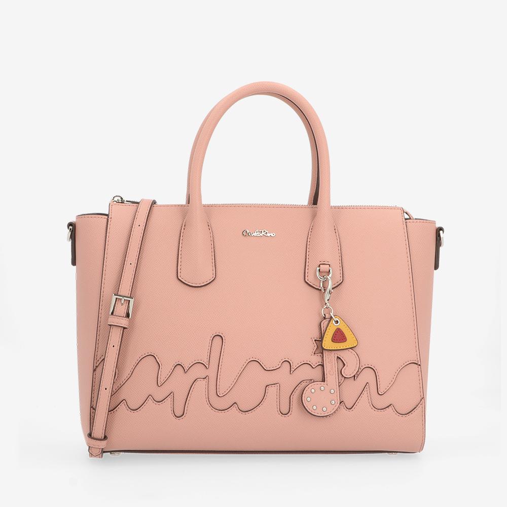 carlorino bag 0304790H 002 24 1 - The Write Bag for You Top Handle