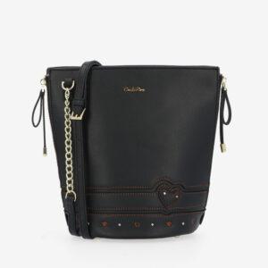 carlorino bag 0304798G 001 08 1 300x300 - Lucky Star Stitch Detail Bucket Bag