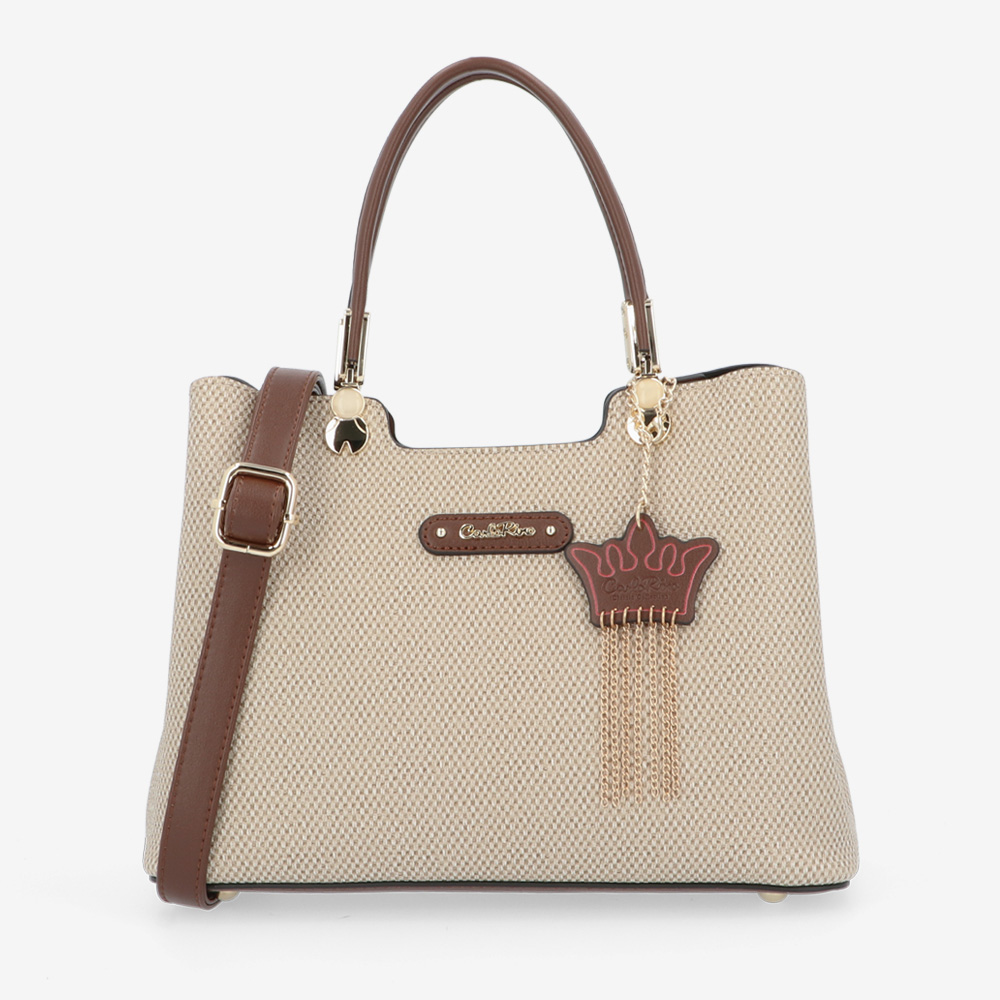 carlorino bag 0304926G 001 05 1 - First of Her Name Top Handle Tote