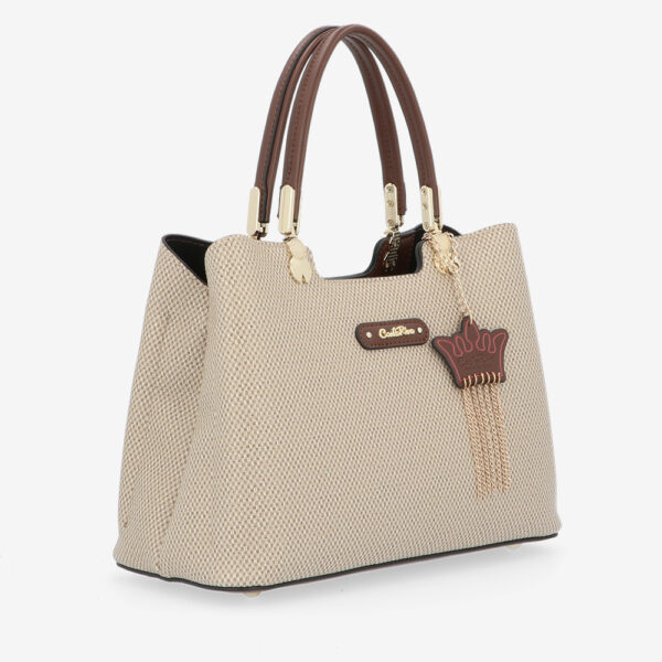 carlorino bag 0304926G 001 05 3 600x600 - First of Her Name Top Handle Tote