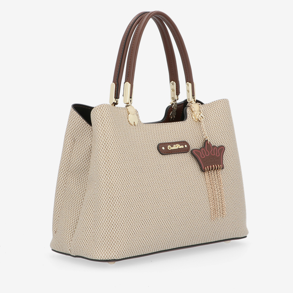 carlorino bag 0304926G 001 05 3 - First of Her Name Top Handle Tote