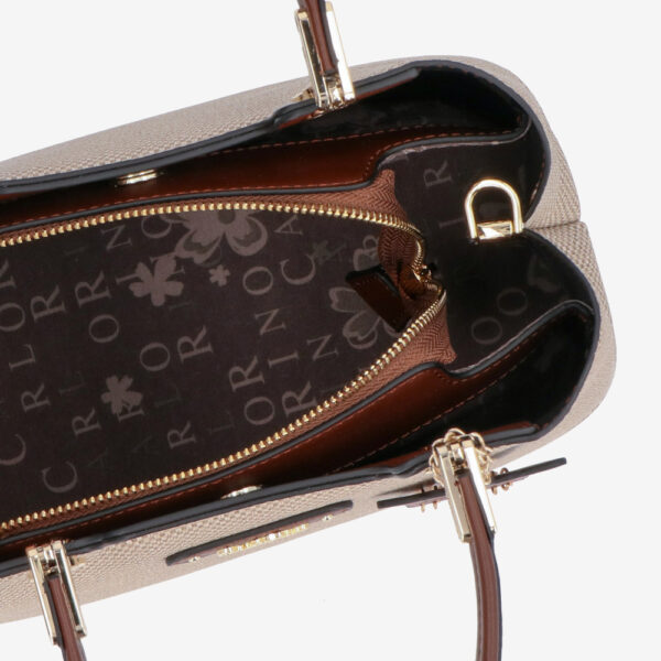 carlorino bag 0304926G 001 05 4 600x600 - First of Her Name Top Handle Tote