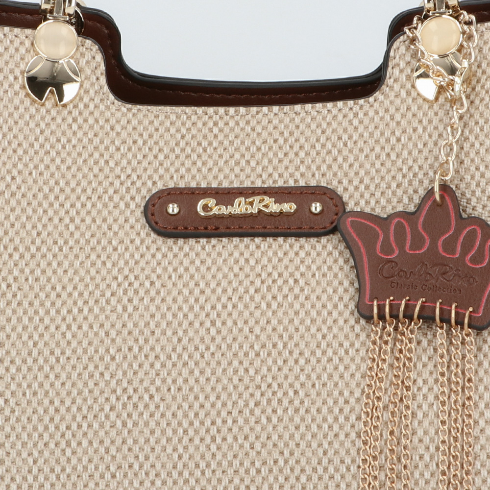 carlorino bag 0304926G 001 05 5 - First of Her Name Top Handle Tote
