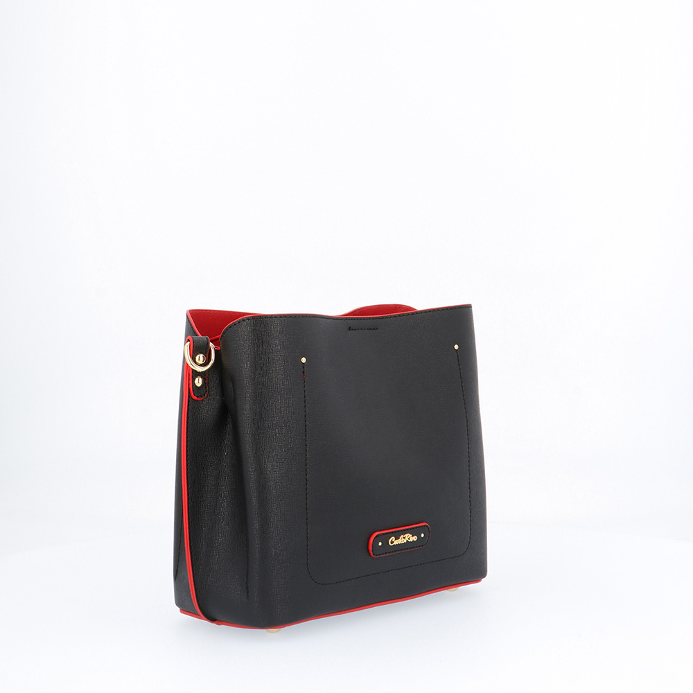 carlorino bag 0303355 016 08 3 - Smooth Carrier 2-in-1 Bag and Wallet Set