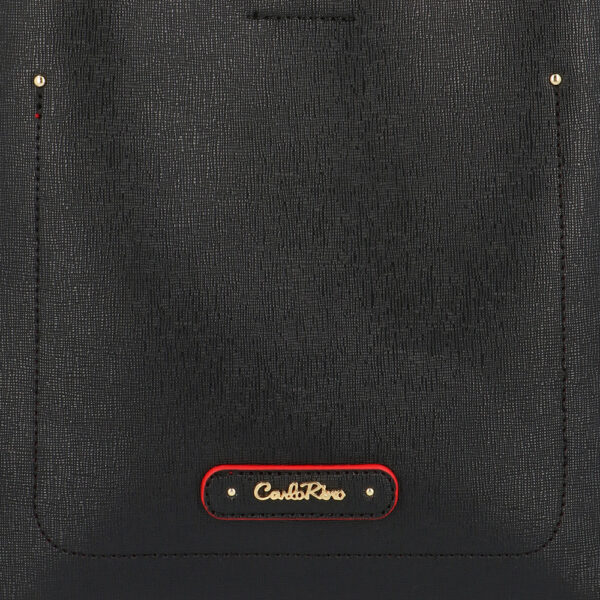 carlorino bag 0303355 016 08 5 600x600 - Smooth Carrier 2-in-1 Bag and Wallet Set