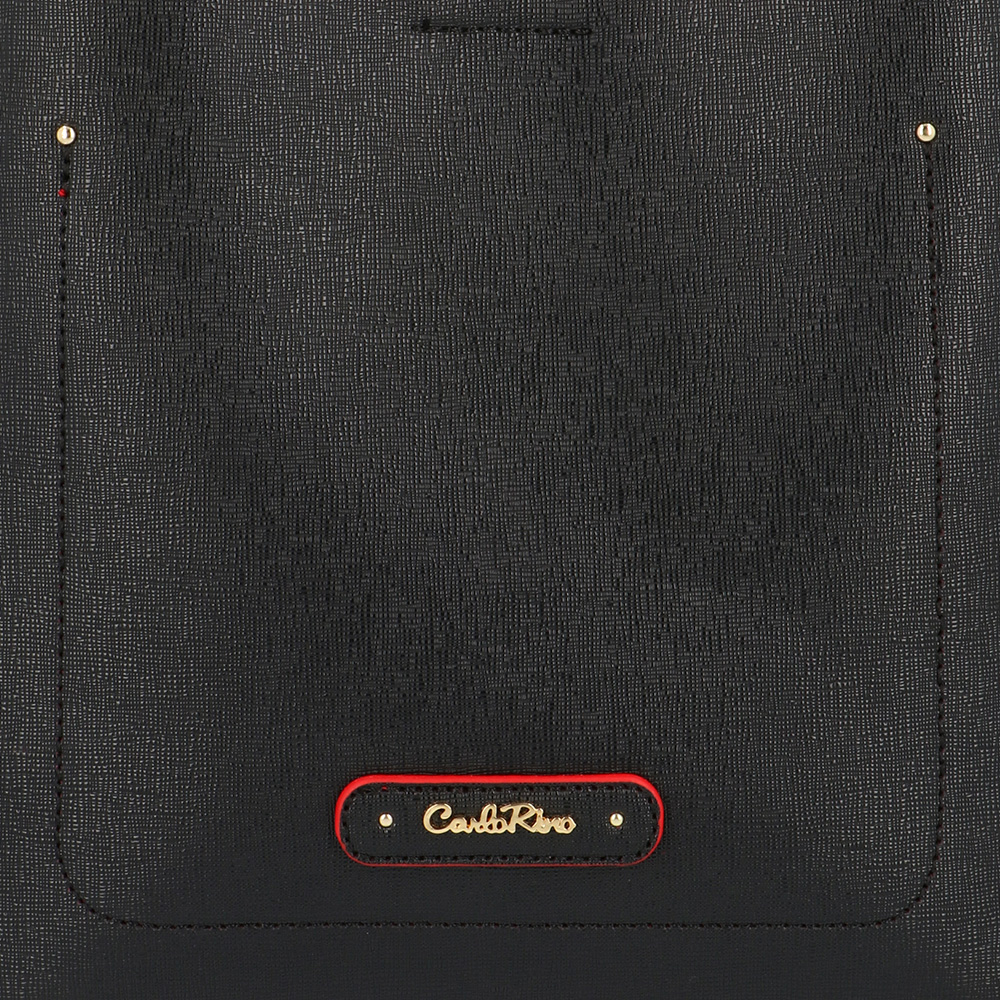 carlorino bag 0303355 016 08 5 - Smooth Carrier 2-in-1 Bag and Wallet Set