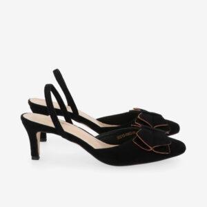 "carlorino shoe 33310 H003 08 2 300x300 - 2"" Peep A Bow Slingback Heels"
