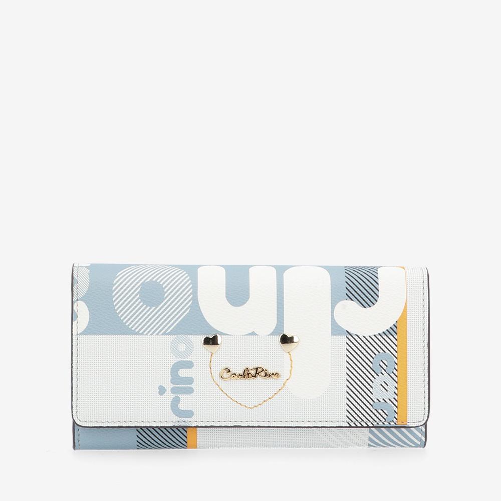 carlorino wallet 0304806H 502 23 1 - Girls in 2-fold Wallet