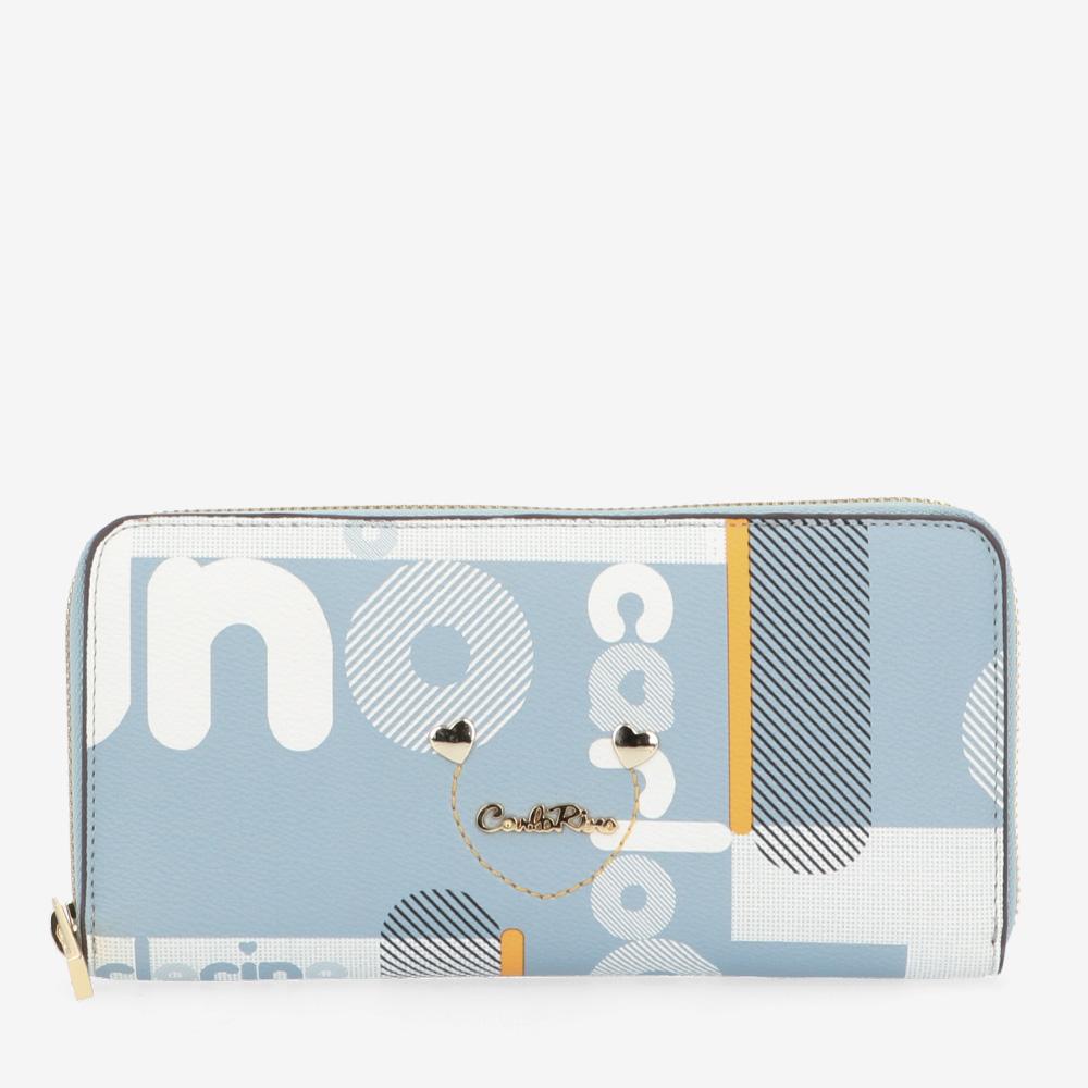 carlorino wallet 0304806H 504 23 1 - Girls in Zip-around Wallet