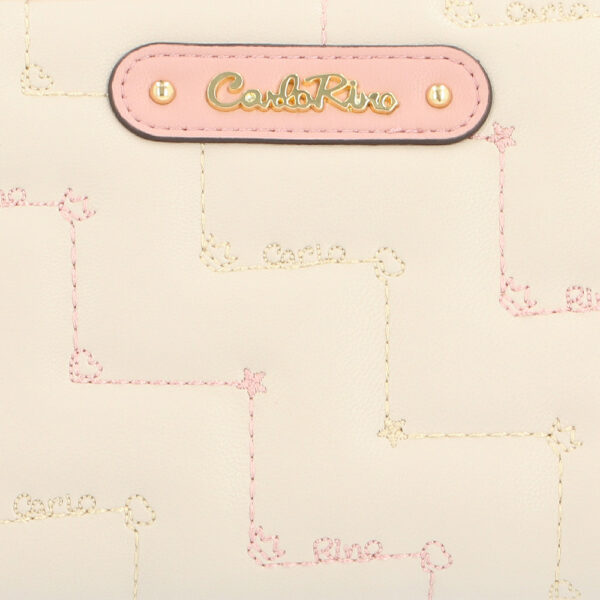 carlorino wallet 0304944G 502 21 5 600x600 - Tickled Pink Cushy Zip-around Wallet
