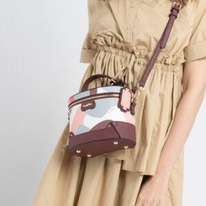 0304819G 001 14 300x300 - Posh in Pink Chain Link Shoulder Bag