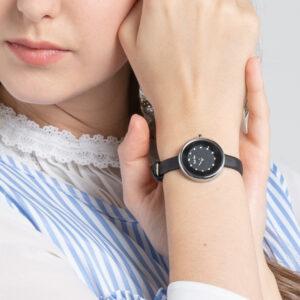 A93301 G012 08 - Ticking Luxury Satin Strap Timepiece