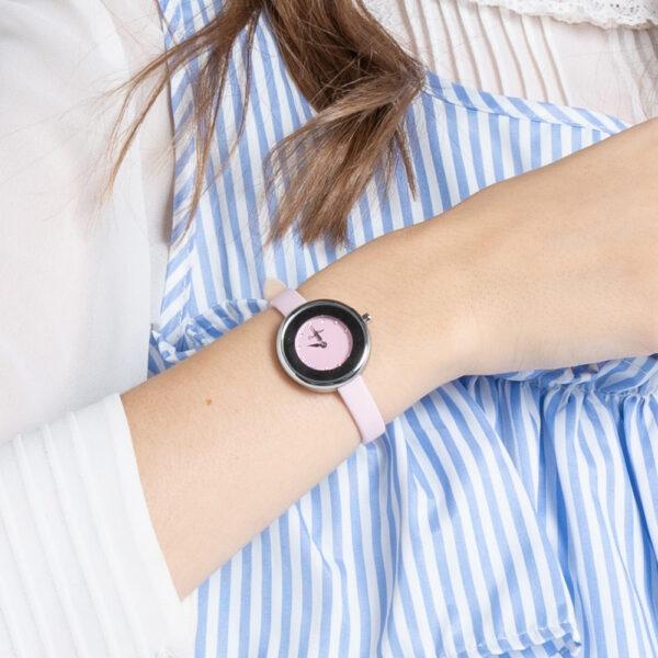 A93301 G013 24 - Ticking Luxury Satin Strap Timepiece