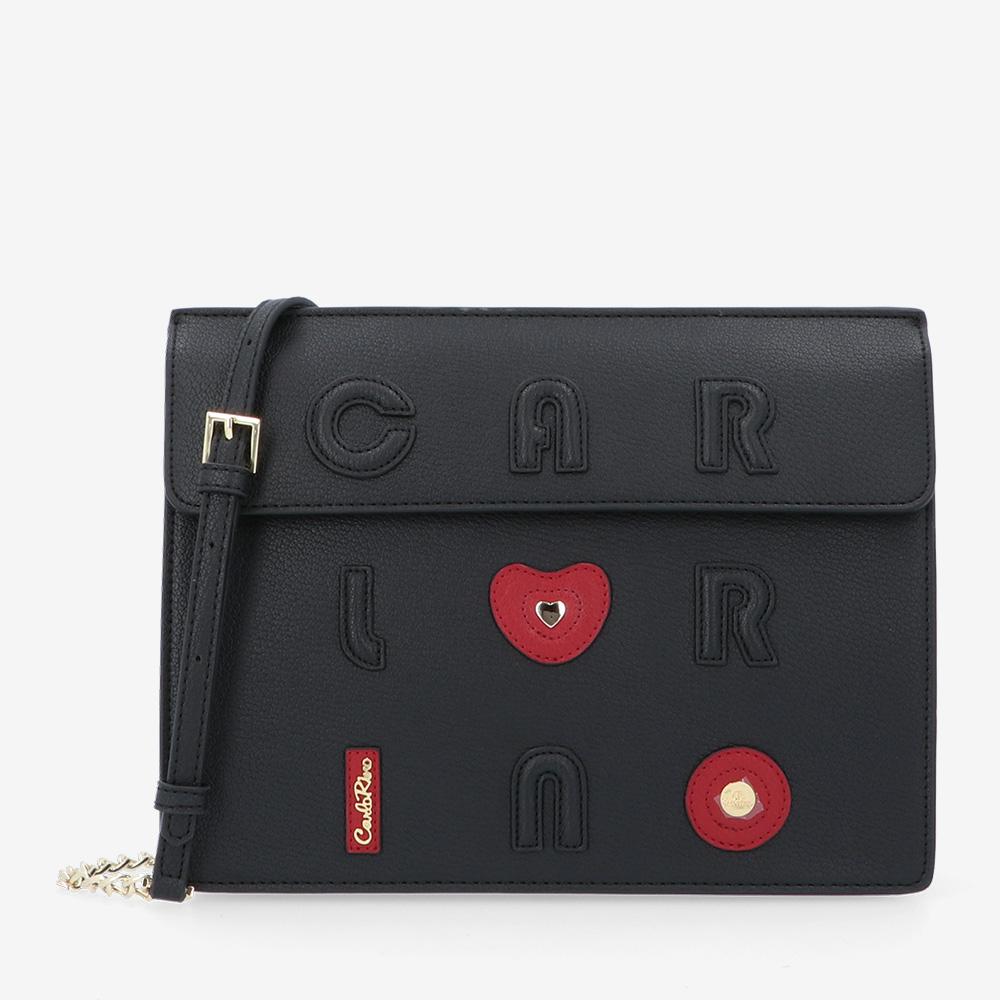 carlorino bag 0304794H 001 08 1 - Queen of Hearts Cross Body