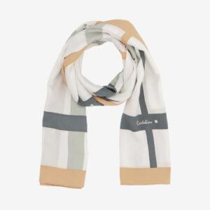 carlorino scarf 31S02 G001 21 1 300x300 - Iconic Stripes Long Silk Scarf